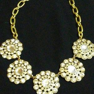 J-crew Crystal Statement Necklace